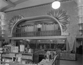 Auditorium-turned-shopping paradise (1940s)