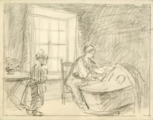 Pencil sketch, c. 1920