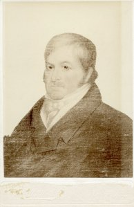 1822 portrait of Solomon Sibley by Chester Harding