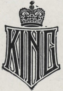 Emblem of the King Motor Car Company