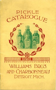 William Bros. & Charbonneau catalog, c. 1900