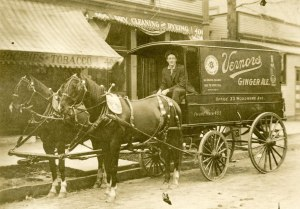 Delivery wagon, c. 1909