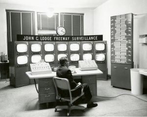 Control Center in the 1960s.