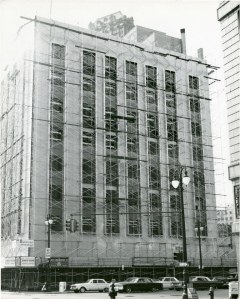 c. 1965, Transforming into the new Rockwell-Standard Building.