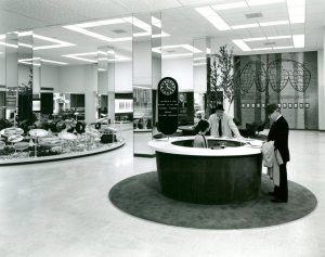 1965, inside the newly renovated Rockwell-Standard Building.