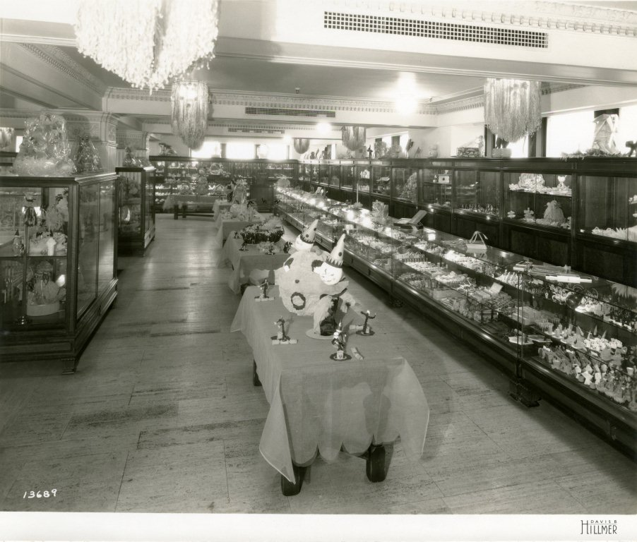 also from the 1920s this photo from the davis hillmer collection shows retail displays dressed - Davis Halloween Store