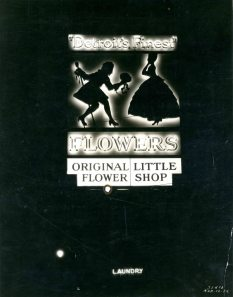1934, Detroit's Finest Flowers, northeast corner of Seward Street and 2nd Avenue.