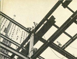 Construction began in 1957.