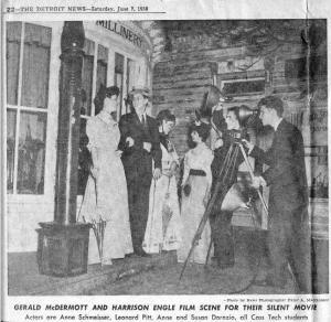 Detroit News, Saturday June 7, 1958.