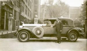 Frank S. Nichols, Packard Motor Car Co. sales associate from Boston