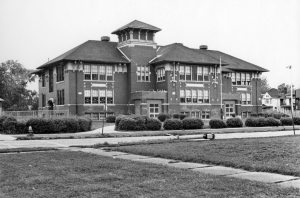 Doty Elementary on 3rd Street (Steve Shaw, c. 1980)