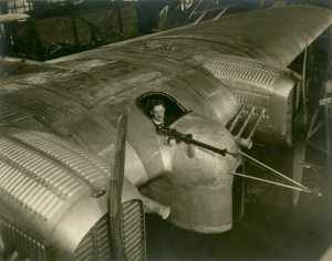 William Bushnell Stout in the cockpit of a Stout ST-1, 1922.