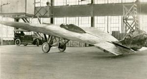 Stout Batwing under construction in a Motor Products Corporation plant, 1918.