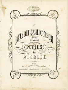 The Detroit Schottisch, 1854