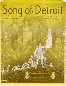 Song of Detroit, 1931