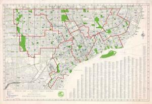 Need a map of all the Detroit Public Schools in 1972? We've got it!