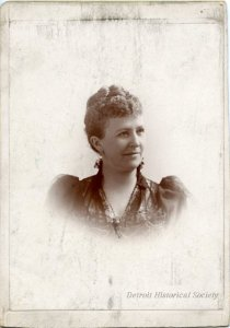 Cabinet card of Annette Alger, c. 1892.
