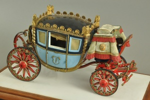 Matusek's carriage model was submitted to Fisher Body Craftsman's Guild's contest in 1932.