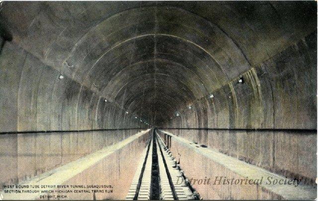 MCR tunnel interior postcard 2012020668